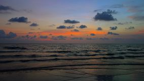 Sunset at Koh Chang, Trat. Thailand Royalty Free Stock Photos