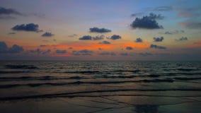 Sunset at Koh Chang, Trat Royalty Free Stock Photos