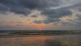 Sunset at Koh Chang, Trat. Thailand Stock Photography