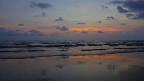 Sunset at Koh Chang, Trat. Thailand Stock Photos