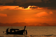 Sunset at Koh Ngai Royalty Free Stock Images
