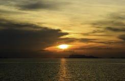 Sunset at Koh Samui island Royalty Free Stock Images