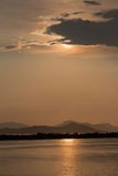 Sunset in Kos Greece Stock Photography