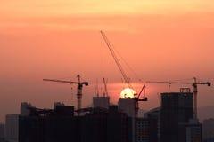 Sunset in Kuala Lumpur Stock Image
