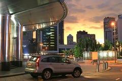 Sunset in Kuala Lumpur Royalty Free Stock Photos