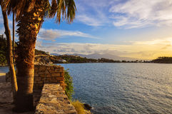 Sunset of Kusadasi Royalty Free Stock Image