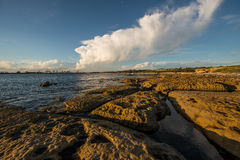 Sunset at La perouse, Sydney Royalty Free Stock Photos