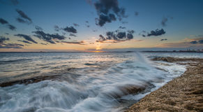 Sunset at La perouse, Sydney Stock Image