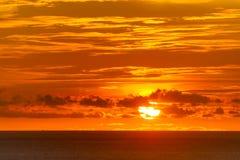 Sunset. On the Laem Phrom Thep Phuket , Thailand Stock Photo