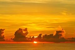 Sunset. On the Laem Phrom Thep Phuket , Thailand Royalty Free Stock Image
