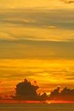 Sunset. On the Laem Phrom Thep Phuket , Thailand Stock Photos