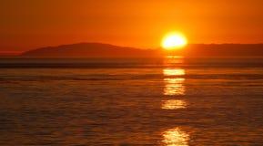 California Dreaming. Sunset at Laguna Beach, CA Royalty Free Stock Photography