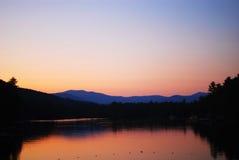 Sunset on Lake Royalty Free Stock Photo