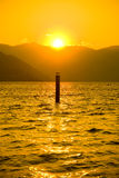 Sunset at Lake Chelan Stock Photos