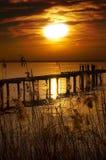 Sunset Lake - Garda Lake - Italy Royalty Free Stock Image