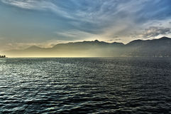 Sunset on the Lake Major Royalty Free Stock Photography