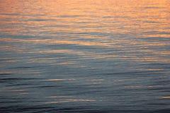 SUNSET ON LAKE Royalty Free Stock Images