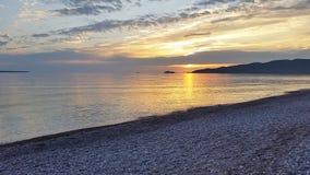 Sunset. Royalty Free Stock Photo