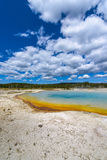 Sunset Lake Thermal Pool Yellowstone Royalty Free Stock Images