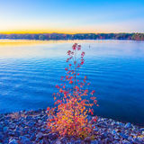 Sunset at lake wylie Stock Images
