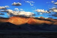 Sunset at lamayuru ladakh