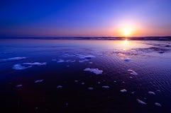 Sunset landscape Stock Images