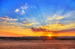 Sunset landscape Royalty Free Stock Photos
