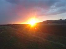 Sunset landscape Stock Image
