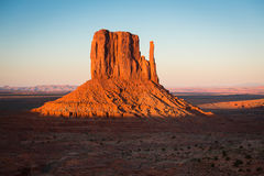 Sunset landscape in Monument Valley. Stock Image