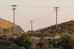 Sunset landscape of Sithonia peninsula, Chalkidiki, Central Macedonia, Greece. Amazing sunset landscape of Sithonia peninsula, Chalkidiki, Central Macedonia stock image