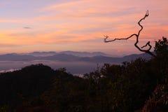 Sunset / Landscape / Sumatra / Indonesia Stock Images