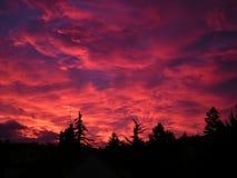 Sunset, Landscapes, Sunrise, Cloud Royalty Free Stock Image