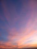 Sunset in Las vegas 4 Royalty Free Stock Images
