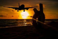 Sunset Lending Royalty Free Stock Images