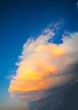 Sunset light storm clouds scenic Stock Photos
