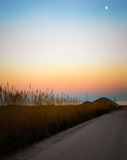Sunset like a painting Royalty Free Stock Images