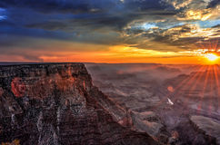 Sunset at Lipan Point Royalty Free Stock Image