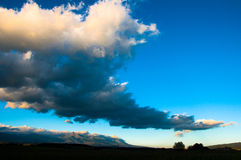 Sunset in Liptov Royalty Free Stock Photos
