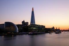 Sunset London Royalty Free Stock Photos