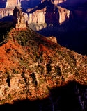 Sunset looking south from the North Rim Royalty Free Stock Photography