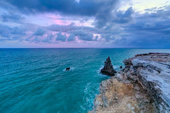 Sunset at Los Morrillos Lighthouse, Cabo Rojo, Puerto  Rico Royalty Free Stock Photo