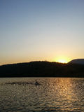 Sunset Loskop Stock Photo