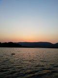 Sunset Loskop Stock Image