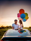 Sunset love Stock Images