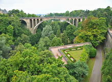 Luxembourg in autumn Royalty Free Stock Photography