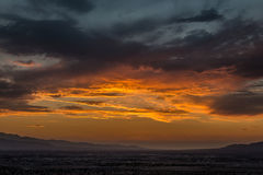 Sunset in LV Royalty Free Stock Photo
