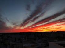 Sunset& x27; magia de s imagenes de archivo