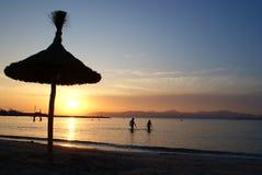 Sunset, Mallorca Royalty Free Stock Image