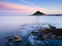 Sunset at Marazion Stock Images