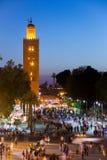 Sunset Marrakech Morocco Royalty Free Stock Photo